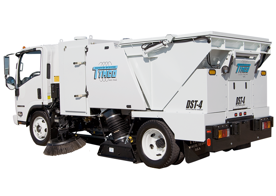 Tymco® DST4 Street Sweeper